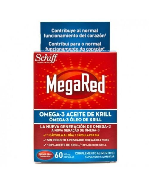 megared 500 omega 3 aceite de krill 60 capsulas