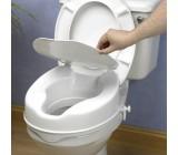 Ayudas Dinámicas Elevador de WC con Tapa