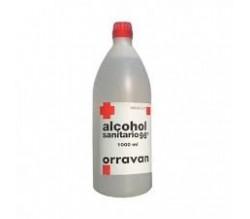 ALCOHOL 96 SANITARIO ORRAVAN (SOLUCION TOPICA 1000 ML )