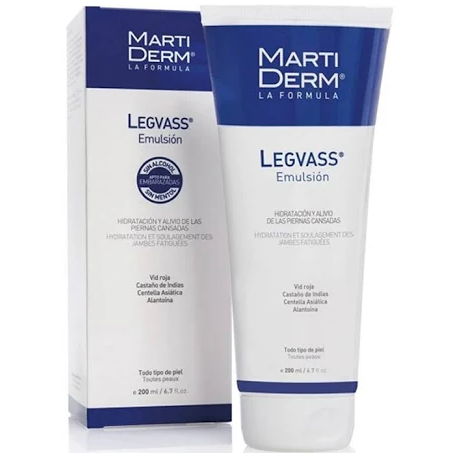 Martiderm Legvass Emulsion Hidratante Piernas Cansadas 200ml